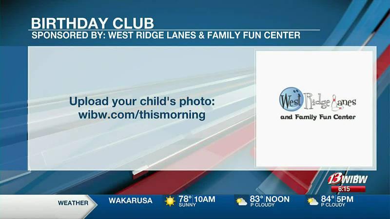 13 NEWS This Morning Birthday Club/Braggin' Wall 9-17-21