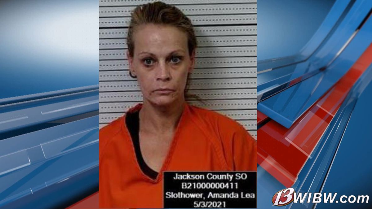 Amanda Slothower was arrested in Jackson Co. on Monday morning, May 3, for possession of...