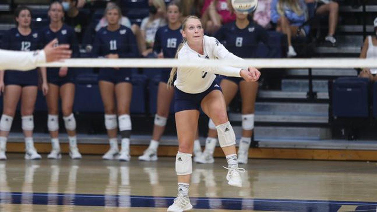 Washburn libero Faith Rottinghaus tied the Ichabods single-game digs record with 51 in a 3-1...