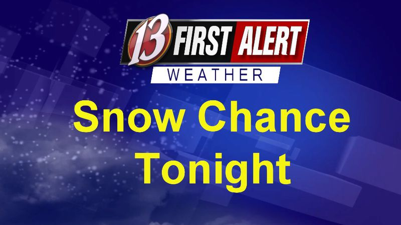 First Alert Snow Tonight