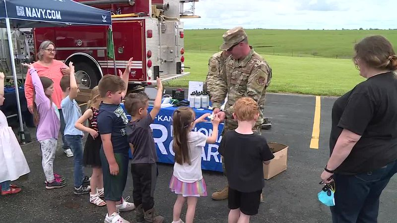 Mission Valley schools welcomed law enforcement, military personnel, emergency responders, and...