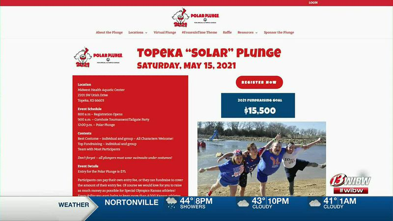Topeka's Polar Plunge is May 15th.