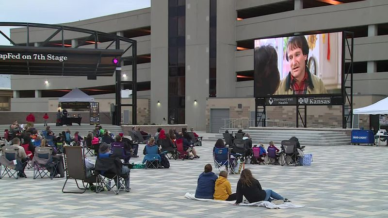 Evergy Plaza movie nights continue with the showing of Mrs. Doubtfire.