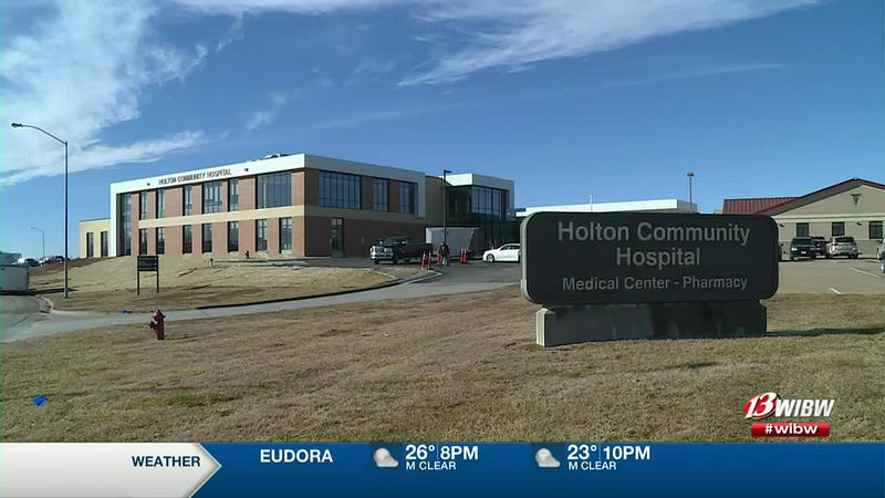 Holton Community Hospital has felt more at ease since there are less medical beds in use.