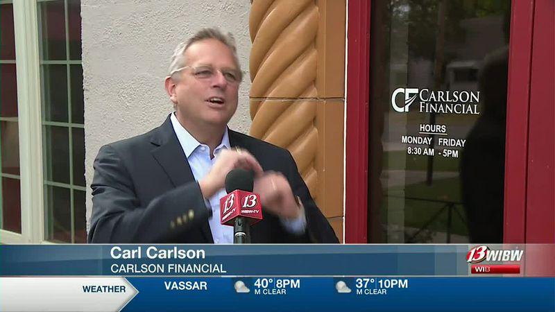 Carl Carlson, Carlson Financial Services