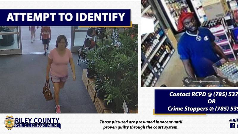 Riley County PD attempt to identify individuals about usage of a stolen debit card.
