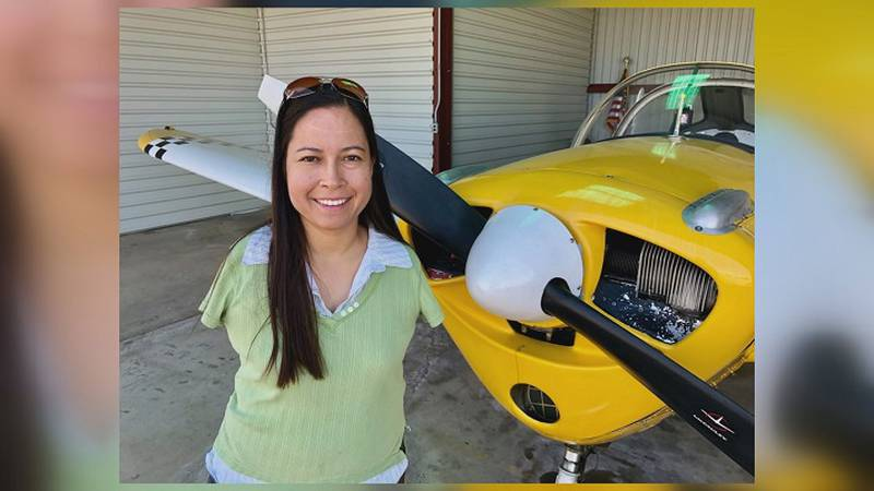Armless pilot stops in Topeka