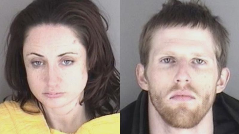 Sarah Neil, 30, and Brandon Norris, 23, were arrested Saturday in Shawnee Co.