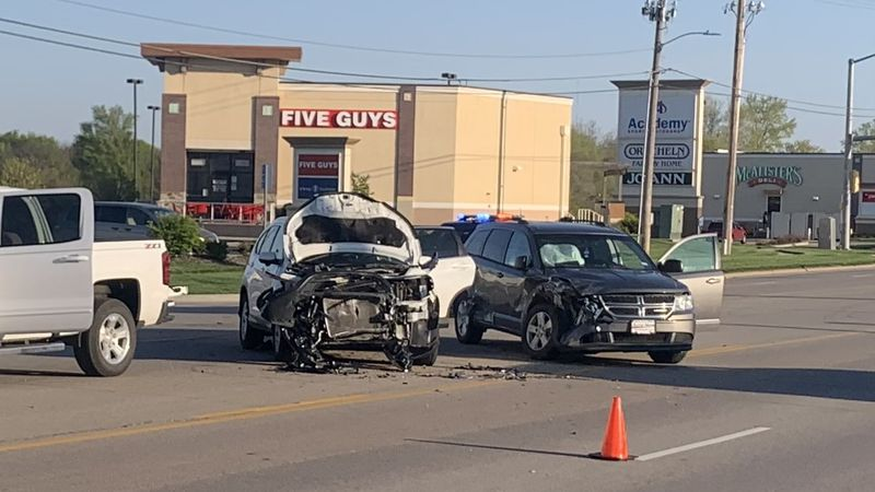 No serious injuries were reported in a two-vehicle crash Monday morning in the 1200 block of...