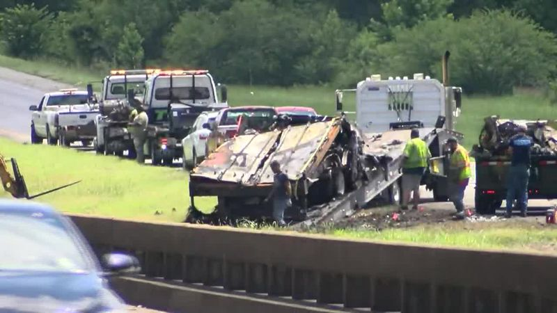 The investigation into Saturday's multi-car accident that left nine children and one adult dead...