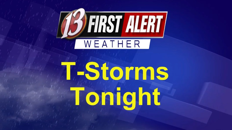 First Alert T-Storms Tonight
