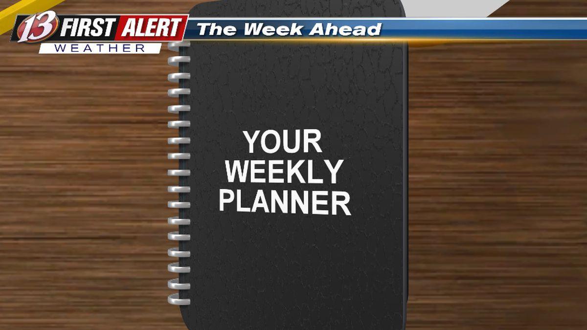 First Alert Weekly Planner