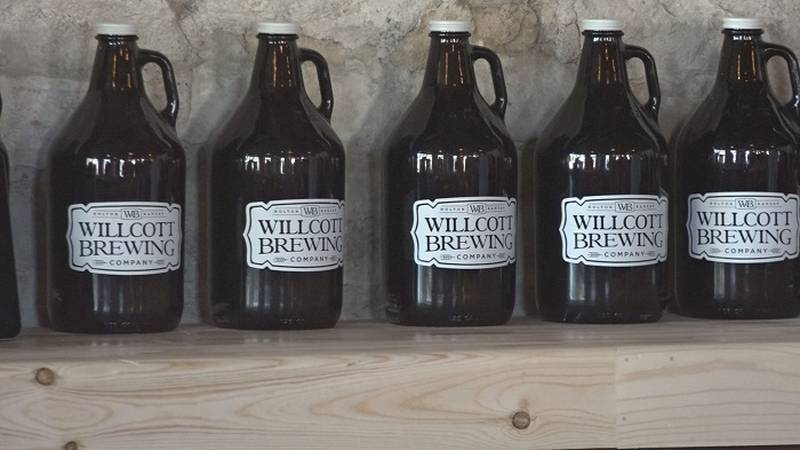 Willcott Brewery Co. in Holton has now added a tap house