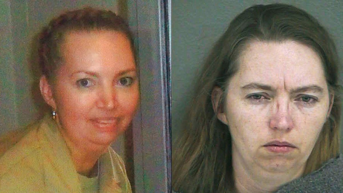 (Attorneys for Lisa Montgomery via AP/ Wyandotte County Sheriff's Department/Getty Images)