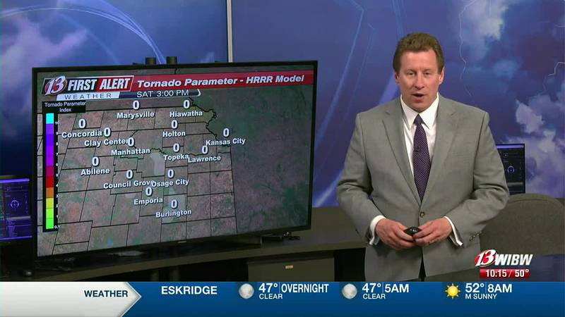 Severe Storms Saturday Evening