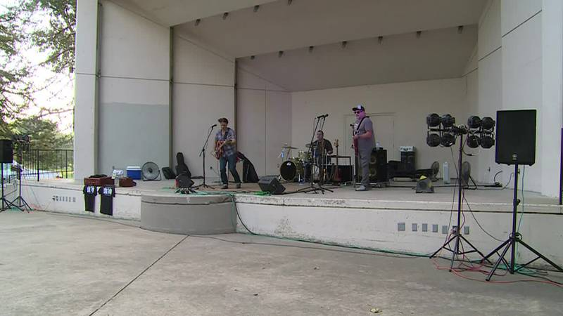 Levee Town is in town to entertain at Gage Park Amphitheatre.