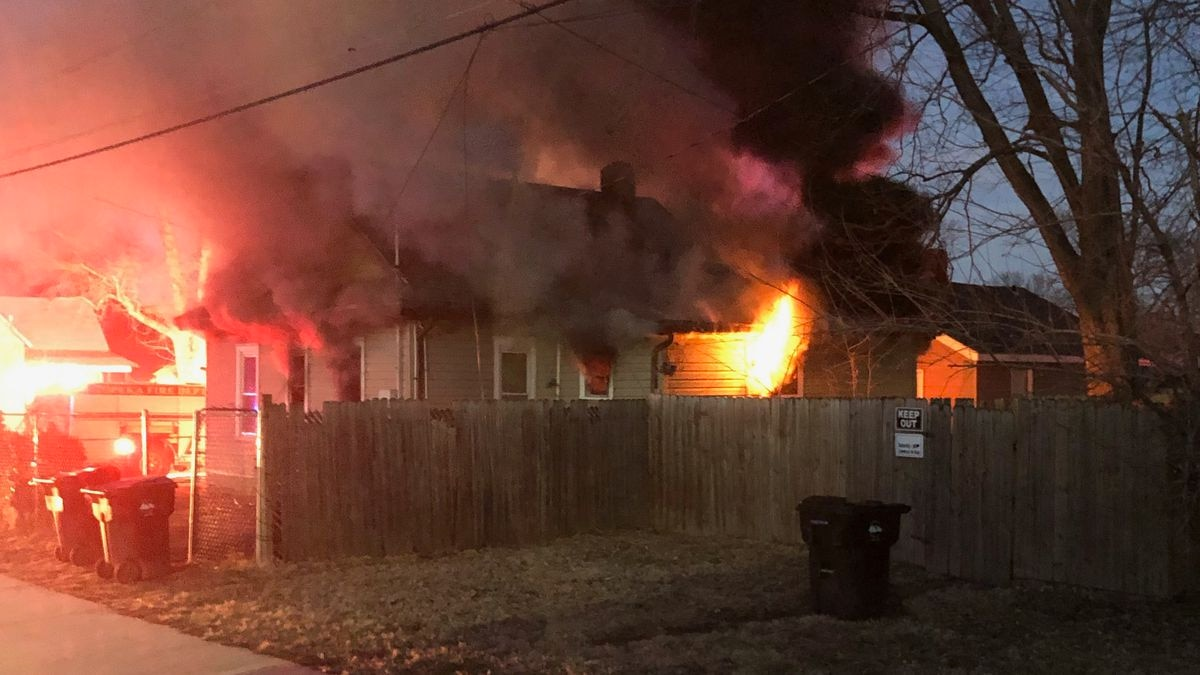 Fire crews were called to 311 NW Fairchild early Tuesday evening on reports of a house in...