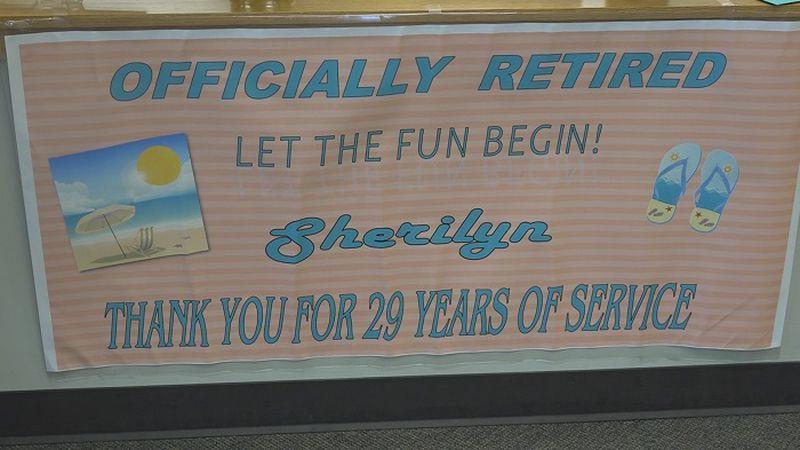 Junction City Municipal Court's Court Supervisor retires