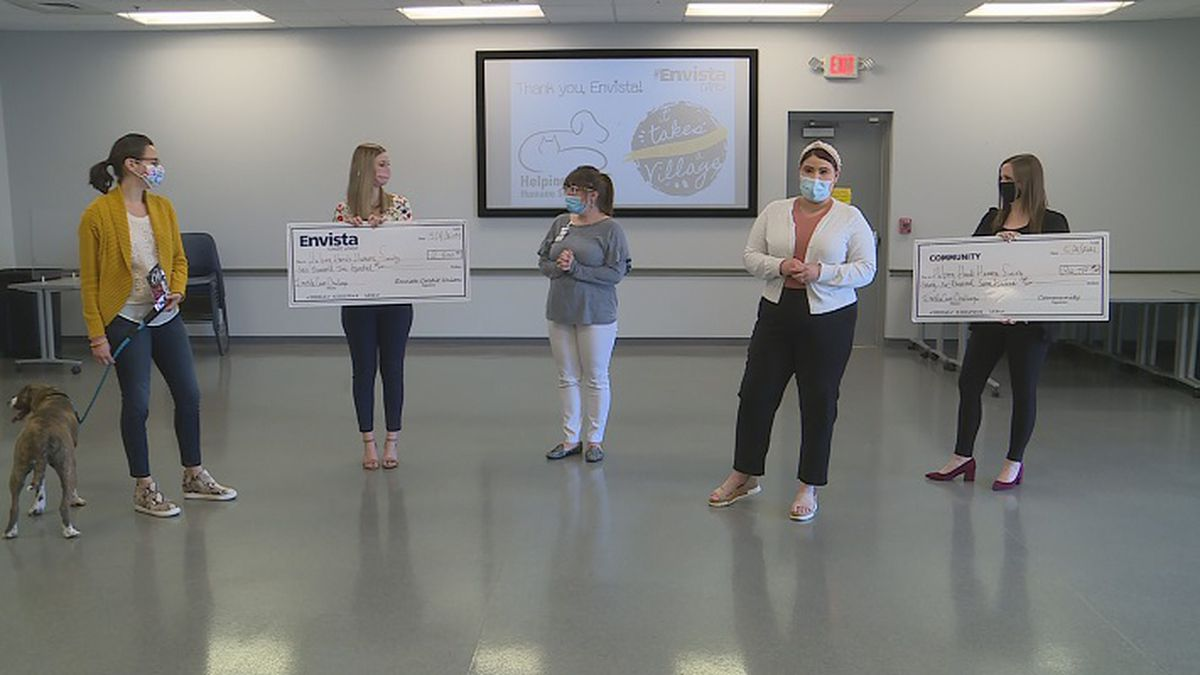 Helping Hands received nearly $30,000 throughout April.