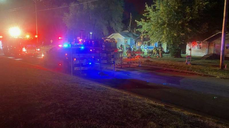 Firefighters respond to fire at 10th and California