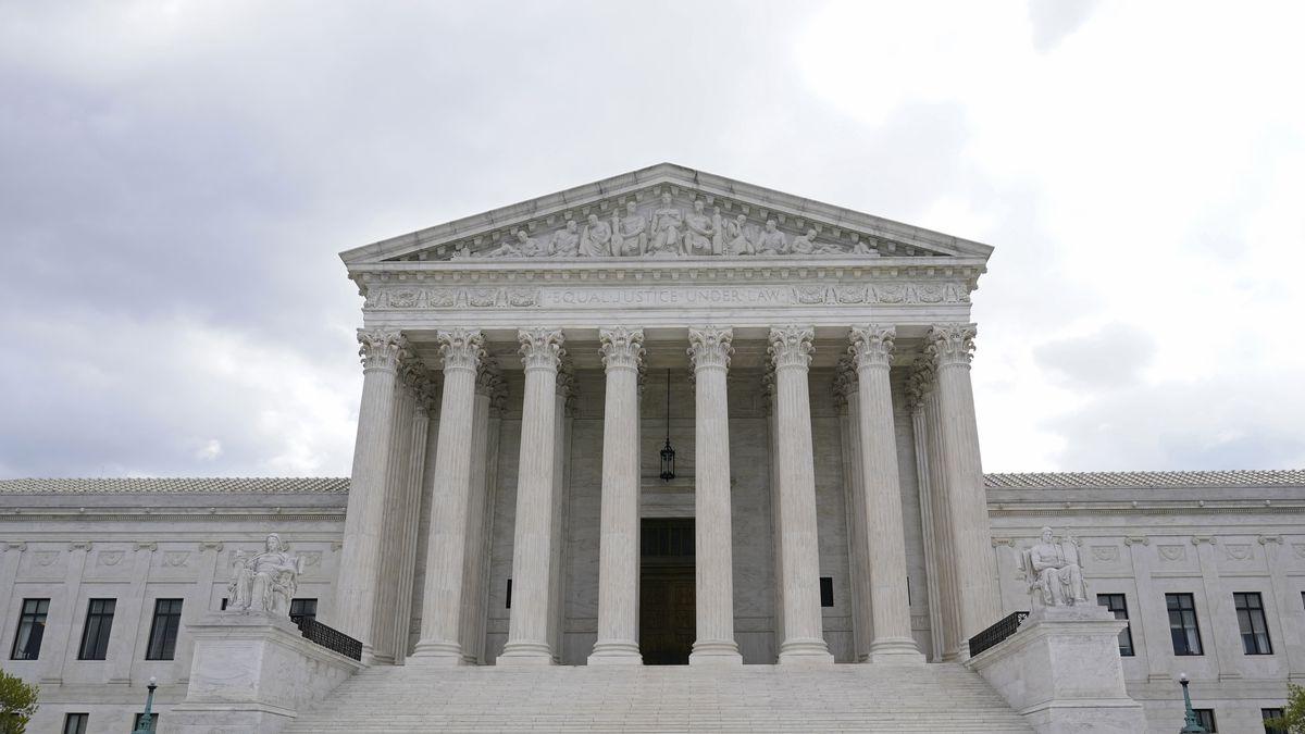 This photo shows the Supreme Court in Washington, Thursday, April 22, 2021.