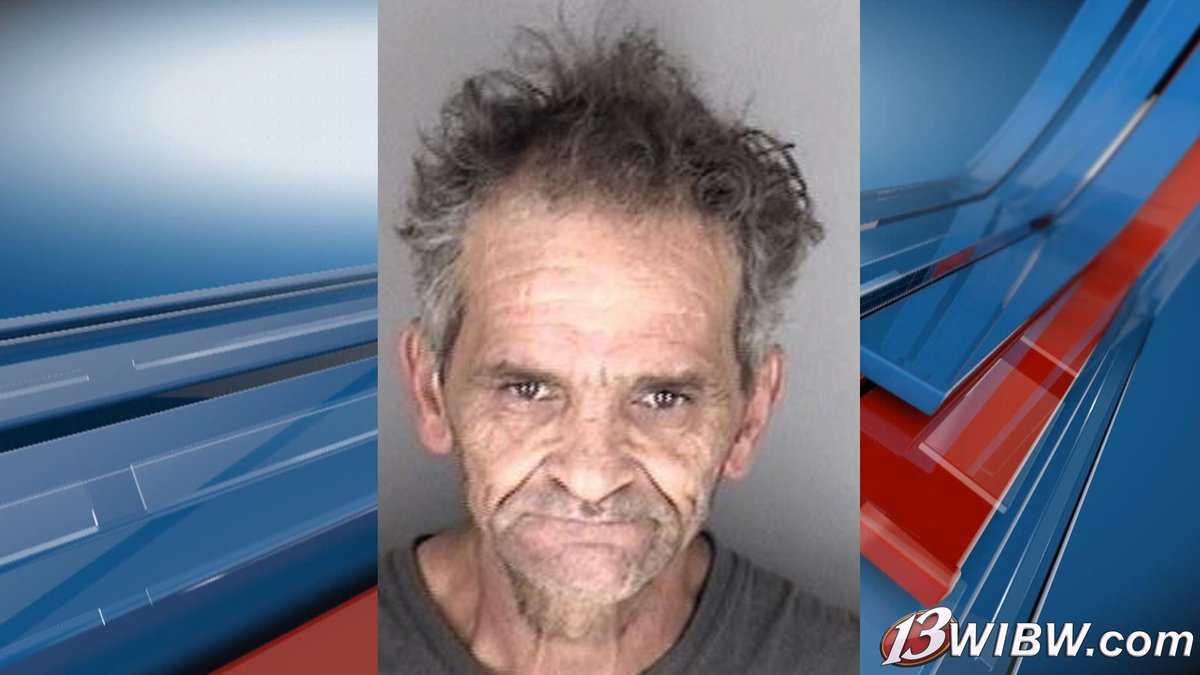 Michael Gene Moore, 54, is taken to the Shawnee Co. Dept. of Corrections for aggravated battery...
