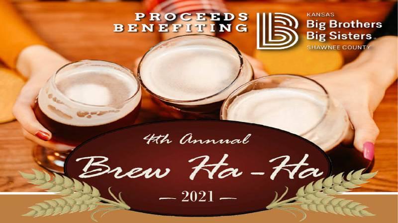 The Brew Ha-Ha fundraiser benefiting KS Big Brothers, Big Sisters will be held Friday, October...