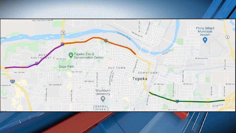 I-70 Closures (KS Dept. of Transportation