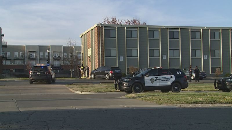 Topeka Police arrest a man with an outstanding warrant