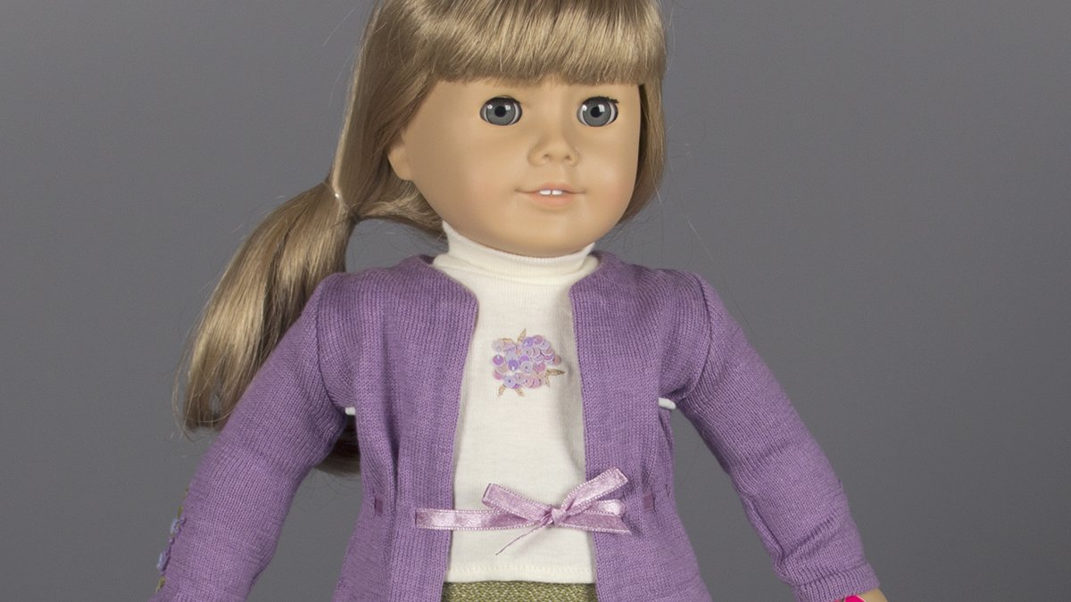 FILE - American Girl doll