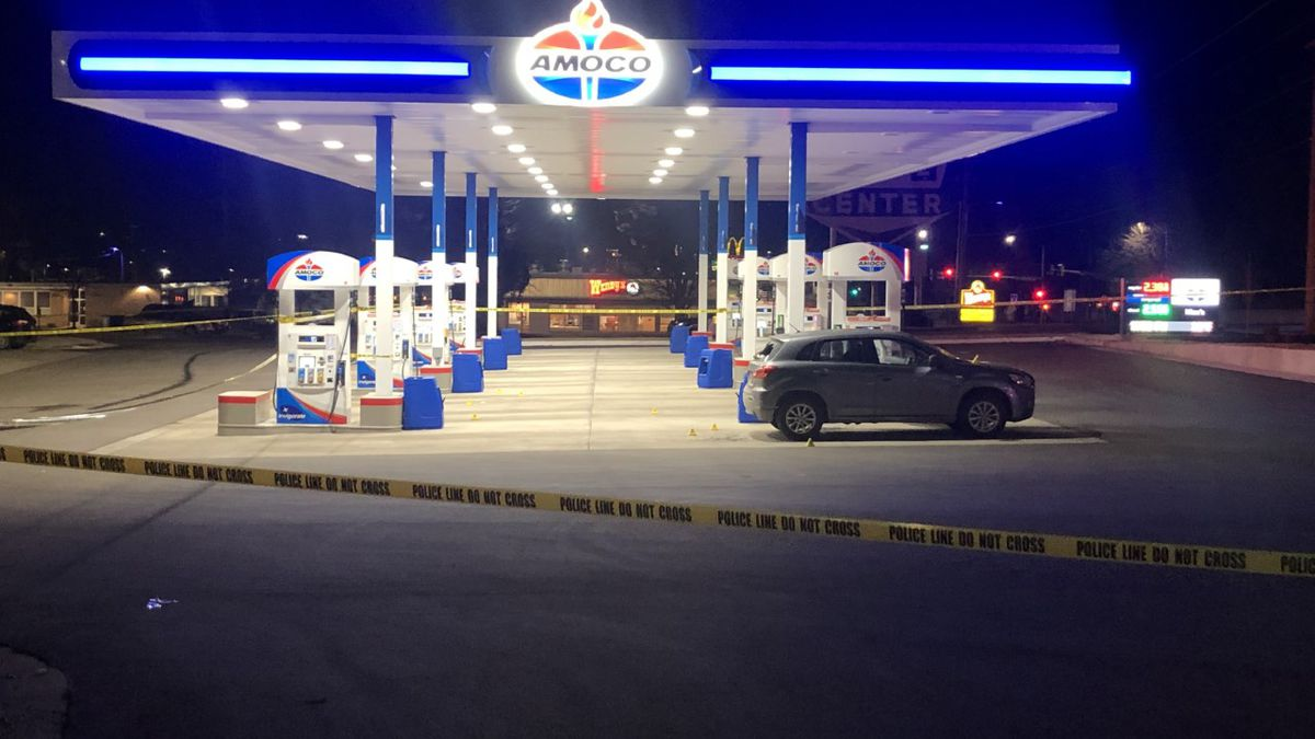 Shawnee Co. Dispatch says one person was taken to the hospital after a shooting near Gage and...