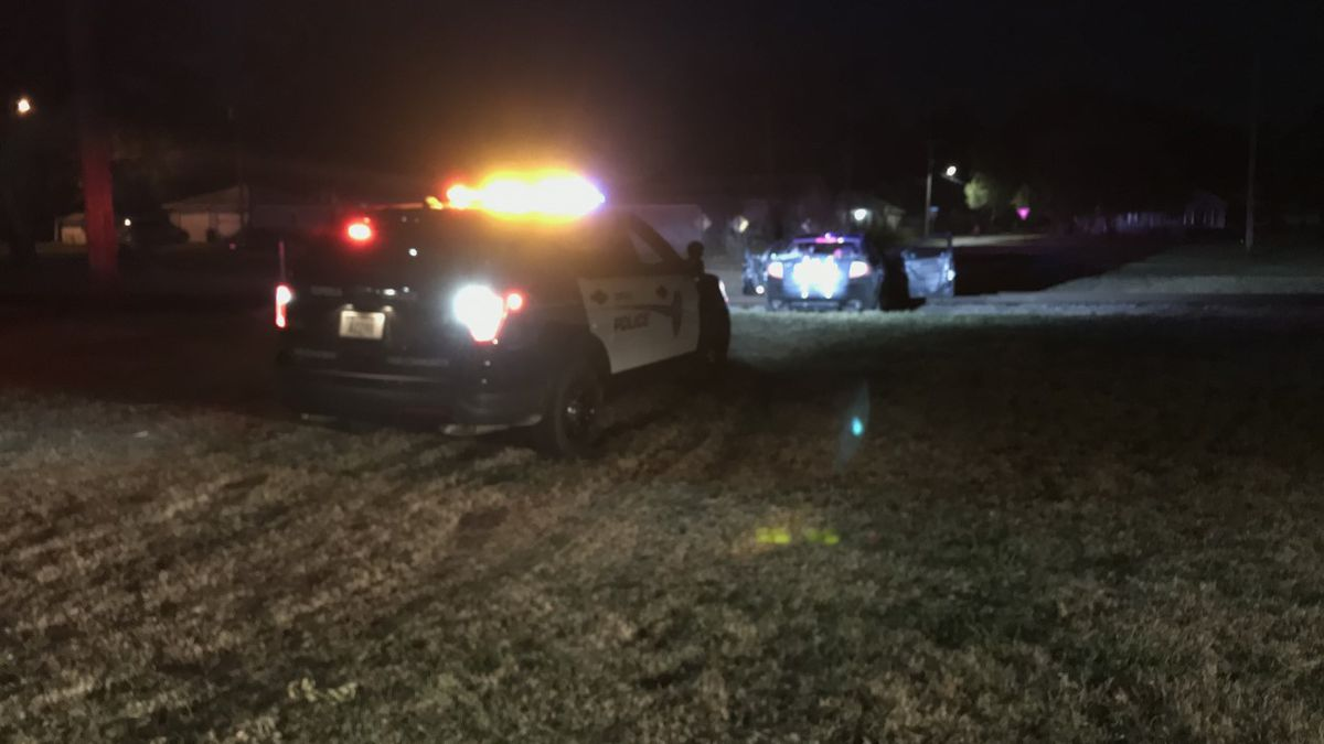 Police say this car crashed on train tracks near NW Tyler and NW Grant, is related to the...