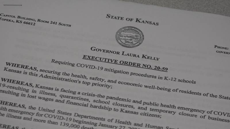 Gov. Kelly issues new Executive Order