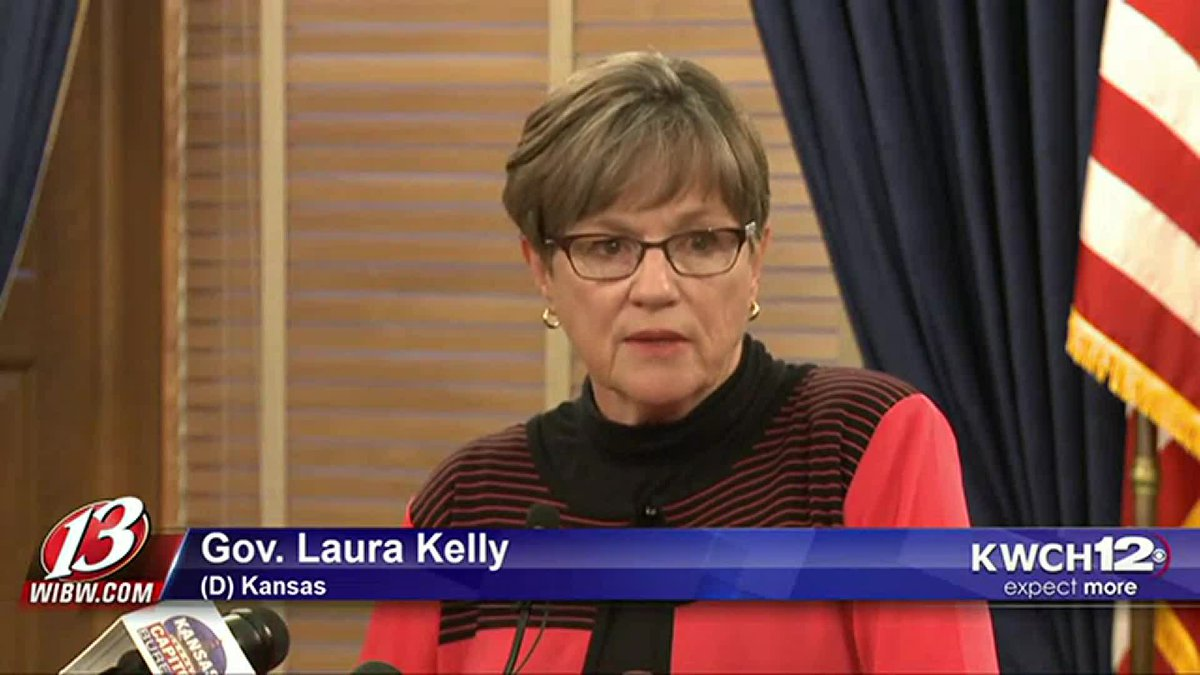 Gov. Laura Kelly COVID-19 news conference