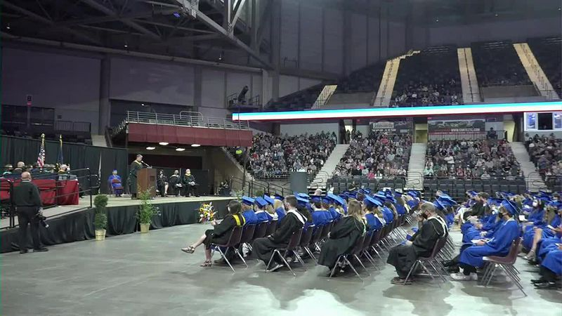 Stormont Vail Events Center holds multiple high school graduation ceremonies