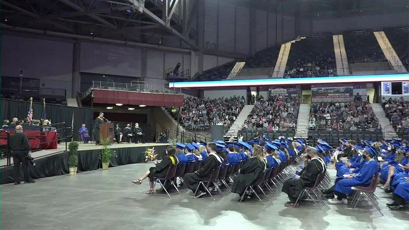 Stormont Vail Events Center holds multiple high school graduation ceremonies
