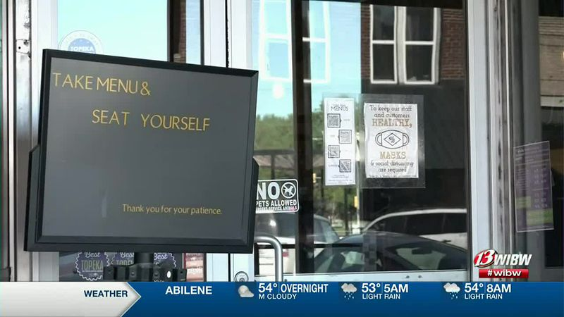 Local Topeka businesses react to new CDC guidelines