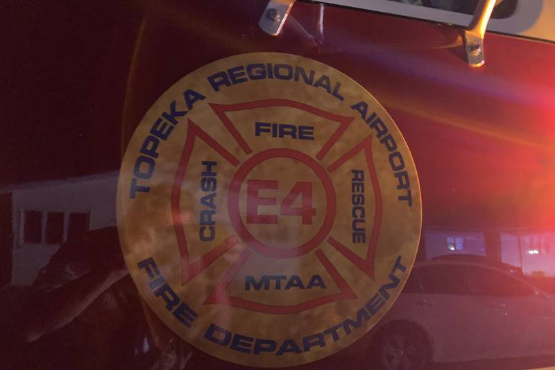 The Metropolitan Topeka Airport Authority and Shawnee Heights fire departments were on the...