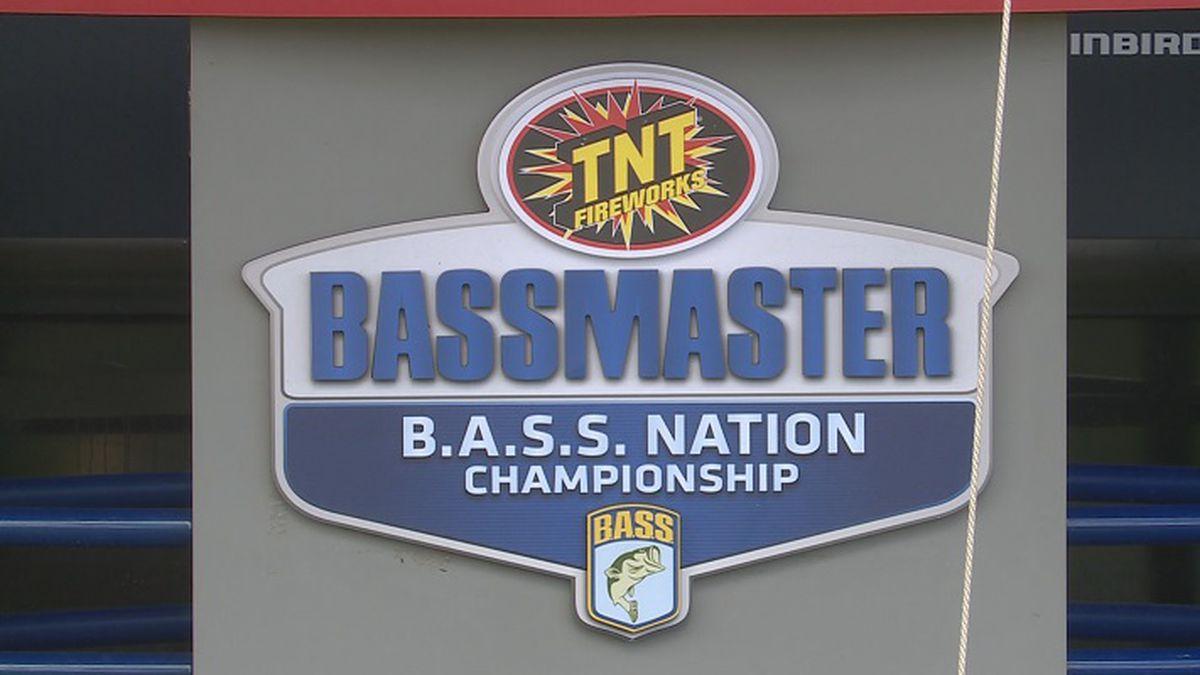 Bassmaster Tournament at Milford Lake.