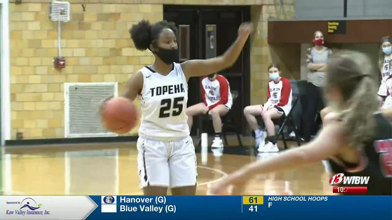 KPZ: Topeka High 61, Emporia 45 (Girls)