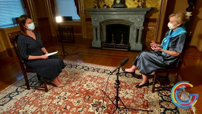 Washington Bureau Chief Jacqueline Policastro interviews Dr. Deborah Birx