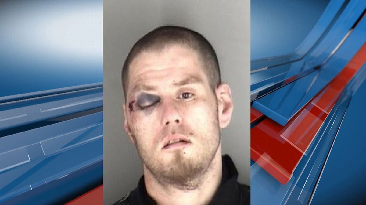 Man in custody after car chase ends in wreck in North Topeka, a woman left with serious injuries