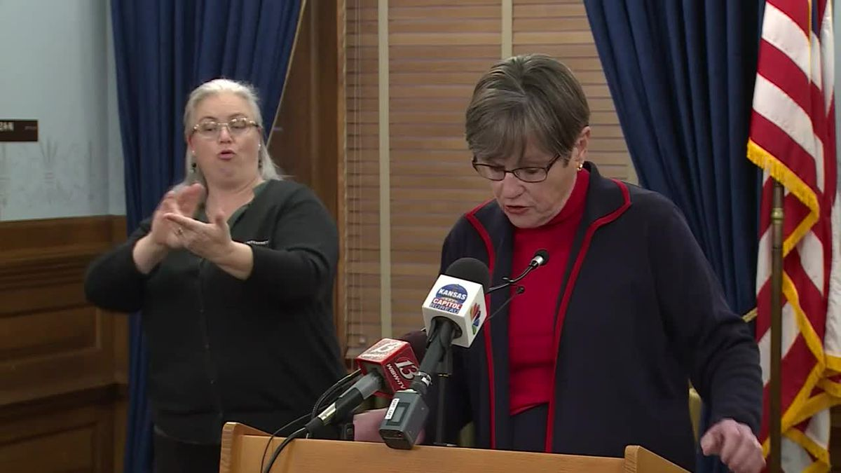 Governor Laura Kelly COVID-19 and testing strategy update