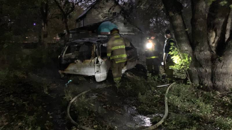 An early-morning vehicle fire Tuesday behind a house at 828 N.E. Monroe is under investigation,...