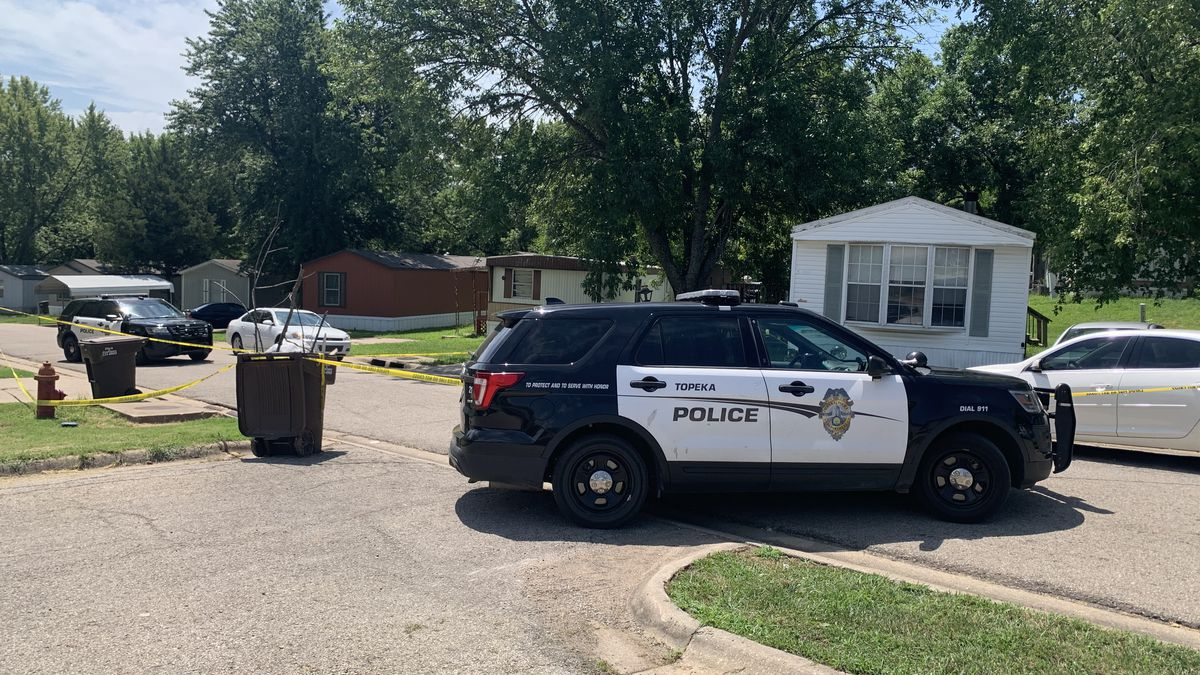 Topeka police investigated a double-homicide that occurred at the Coachlight Village Mobile Home Park in the 3800 block of S.W. South Park Avenue.