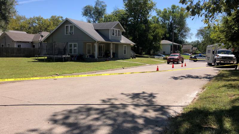 Riley County Police investigate the murder of Shanell Bobian, 27, of Manhattan, on Saturday,...