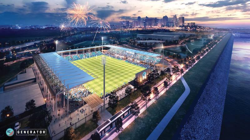 A new stadium for the Kansas City National Women's Soccer League team was announced on Tuesday,...