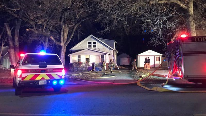 TFD crews are battling a house fire on 10th St.
