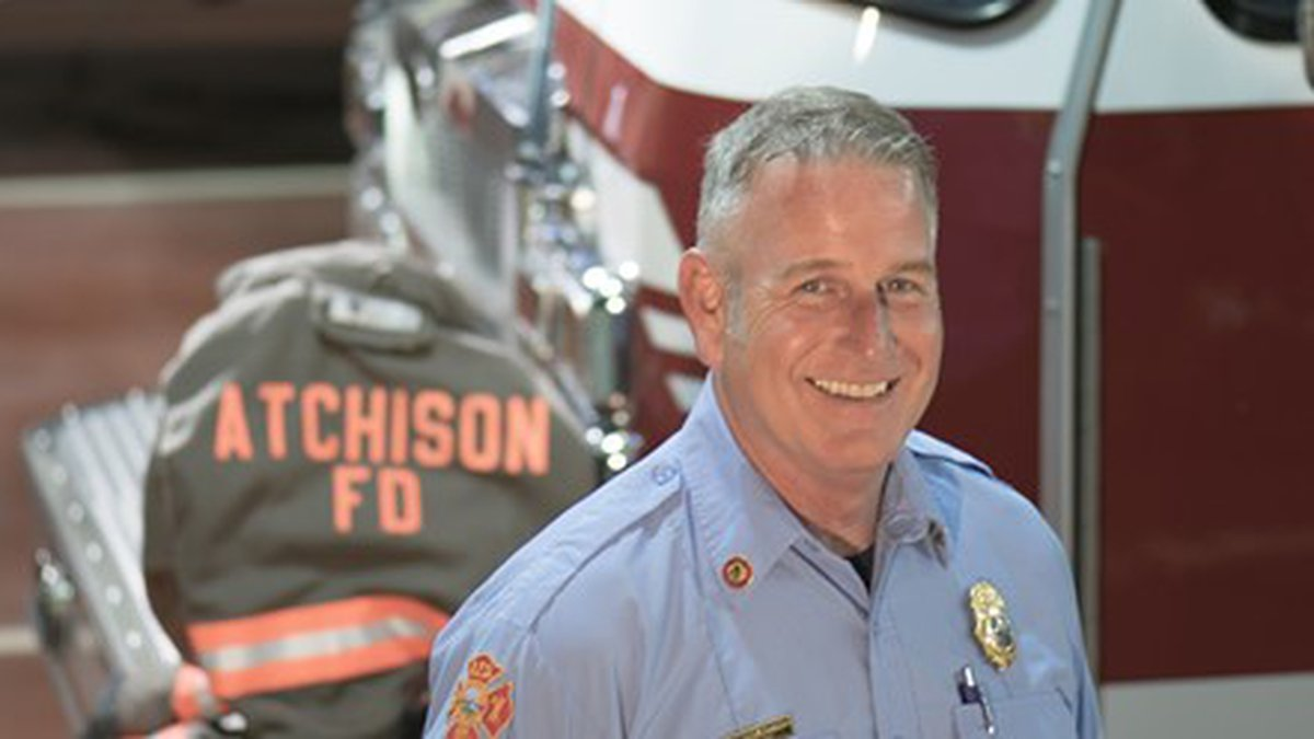 Patrick Weishaar has been named the permanent fire chief of the city of Atchison, according to...