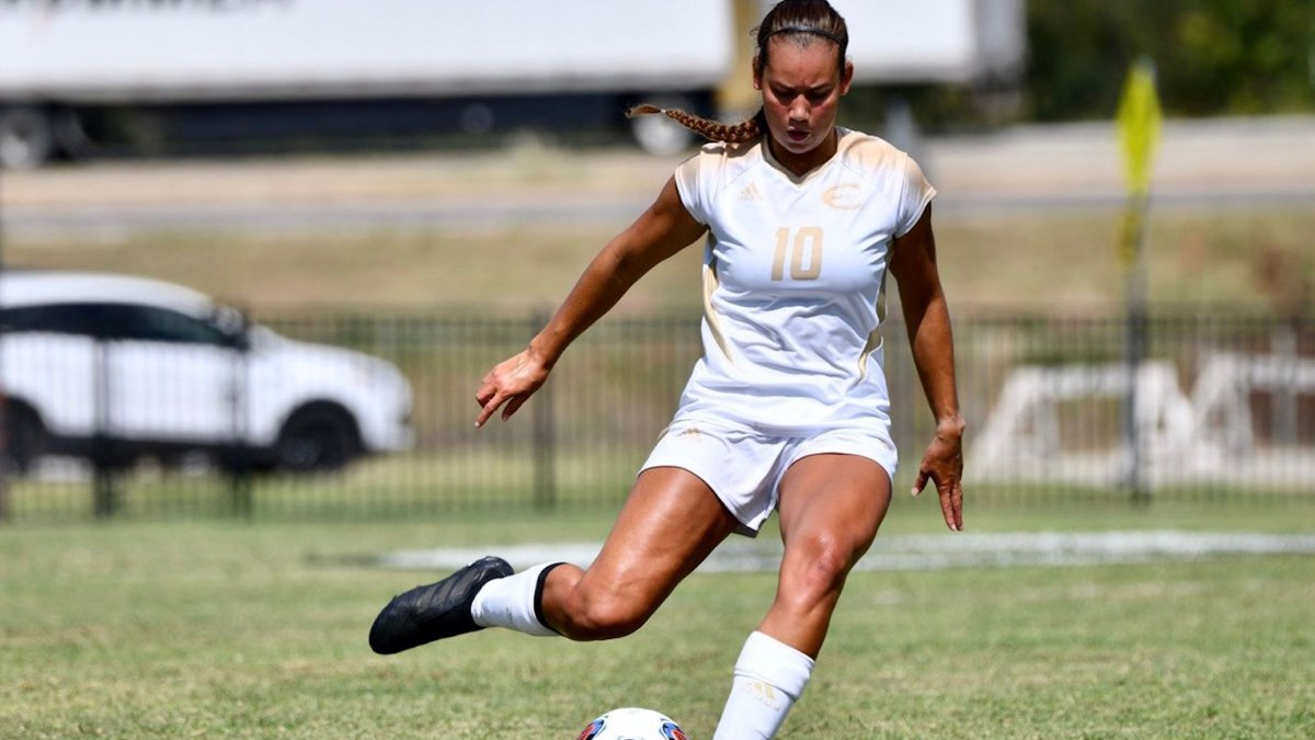 Hannah Woolery scored two goals for Emporia State in a 2-1 win over Washburn on September 19,...